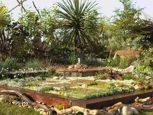 creative and contemporary garden designs